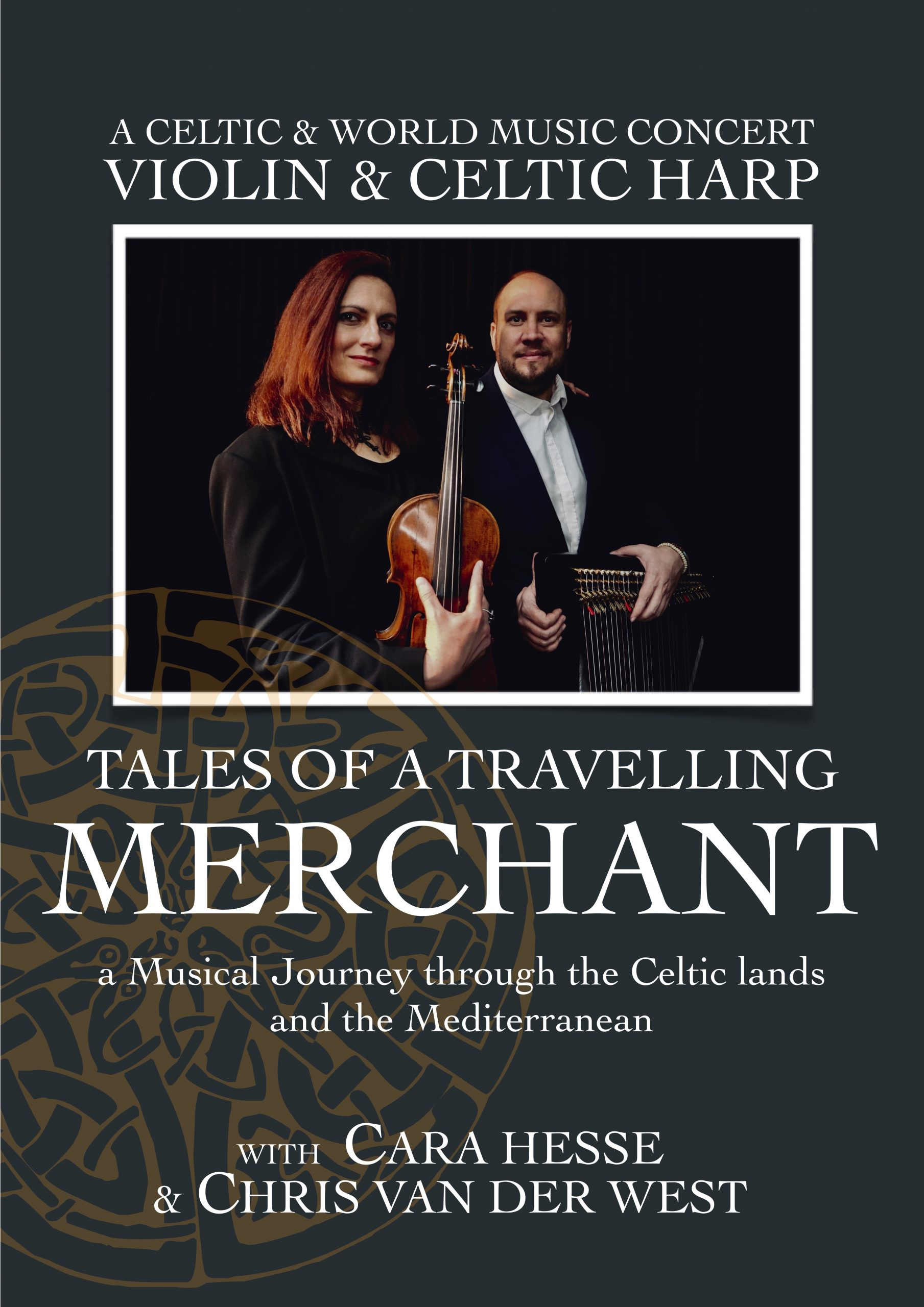 Tales of a Travelling Merchant – a Celtic and World Music Concert – Violin & Harp