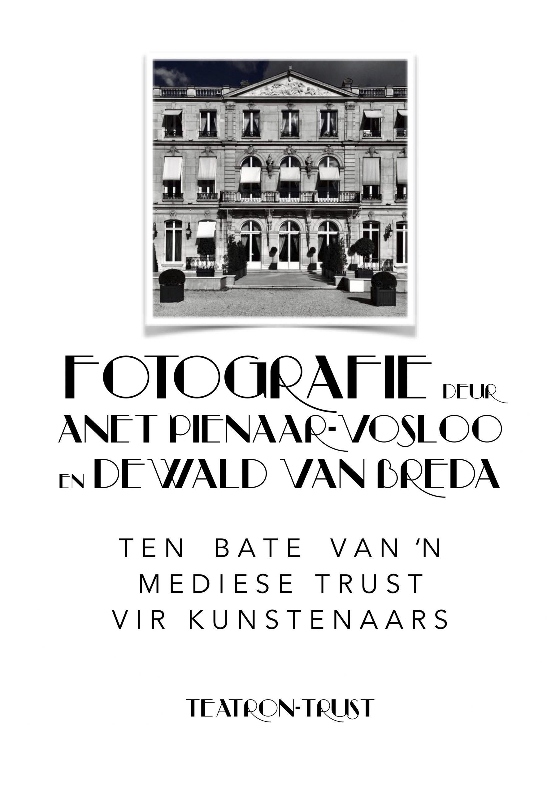 Fotografie deur Anet Pienaar-Vosloo & Dewald Van Breda