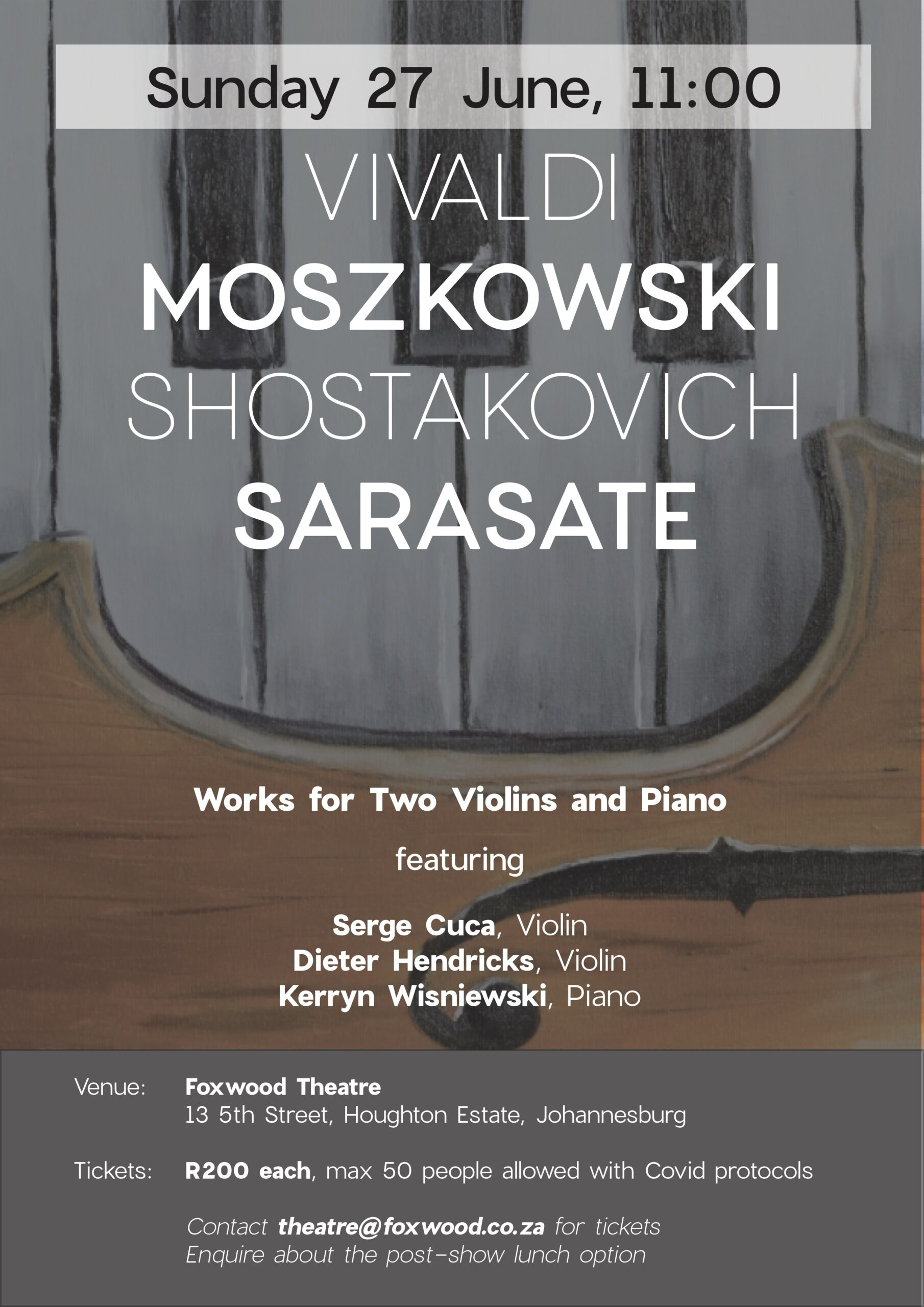 Works for Two Violins & Piano